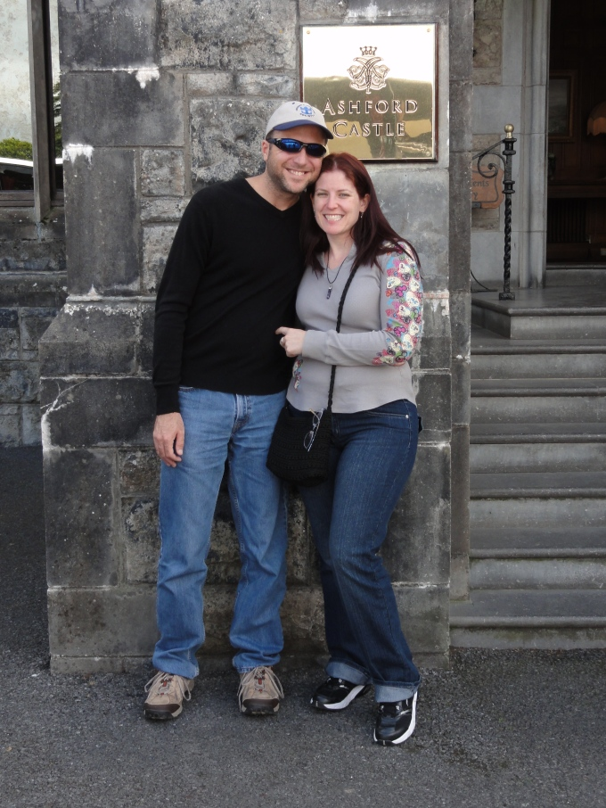 We went to lunch at Ashford Castle!