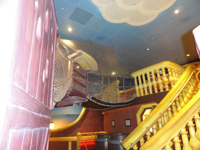 In the Oceaneer's Club. Can you beat a pirate ship in the kids club?!