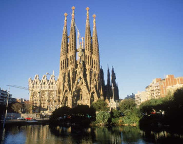 Spain sojournwithstacey for Gaudi kathedrale barcelona