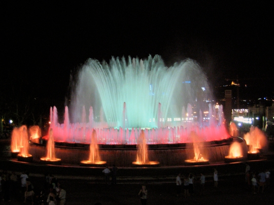 Barcelona Magic-Fountain-of-Montjuic
