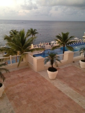 Beautiful and Blue at the Cozumel Palace