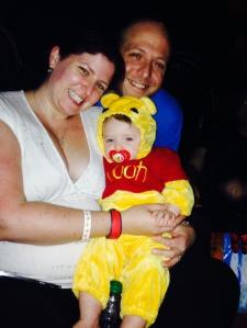 Happy Halloween!!!  At Mickey's Not So Scary Halloween at the Magic Kingdom